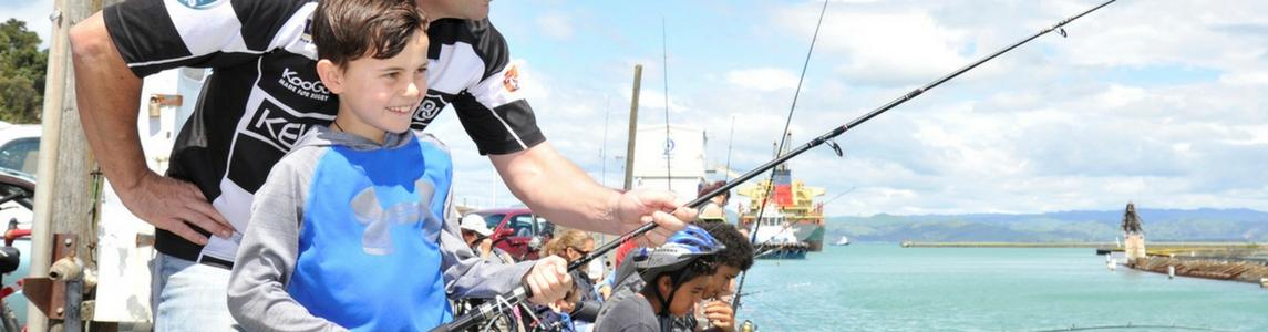 Fishing in Gisborne