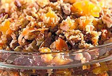 Citrus Scented Wheat Salad